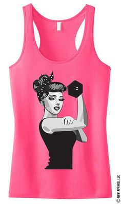 41 Adorable Graphic Tanks For The Gym