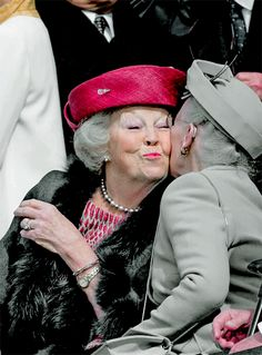 Princess Beatrix and Queen Margareta