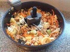 Actifry Recipes, Air Fryer Recipes, Wok, Bruschetta, Lchf, Paella, Fries, Snacks, Ethnic Recipes