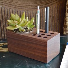 """""""The Planter"""" Pen Holder by Mike Dudek — Tools and Toys"""