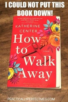 On my TBR pile: How to Walk Away a Novel by Katherine Center will be this summers hottest . I Love Books, Great Books, My Books, This Book, Good Books To Read, Wise Books, Book Club Books, Book Nerd, Book Lists