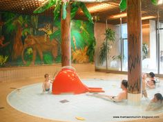 La piscina de olas de Múnich - Cosima Wellenbad