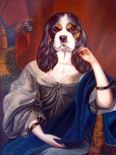 """The Art of Thierry Poncelet: """" Ancestral Dogs """"   AnOther   Reader"""