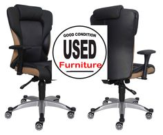 Used Office Chairs, Office Furniture, Money, Home Decor, Decoration Home, Silver, Room Decor, Home Interior Design, Home Decoration