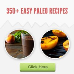 Start your Paleo Diet with easy and healthy meals from Paleo Recipe Book. Over 370 paleo recipes just about anything youll ever need on a Paleo diet. Paleo Recipes Easy, Crockpot Recipes, Diet Recipes, Cooking Recipes, Paleo Diet Food List, Paleo Meal Plan, Paleo Cookbook, Cookbook Recipes, Paleo Breakfast