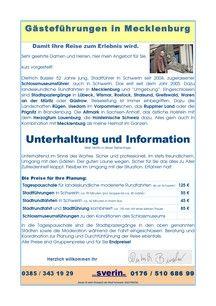dB Gästeführungen in Mecklenburg