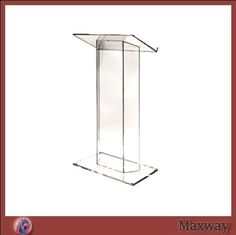 Transparent Acrylic school Lectern