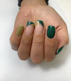 Share you most favorite Green nail art ideas. See more ideas about Green nails, Manicure and So this amazing color is Mint Sobert by Sally Hansen Hard As Nails Lime Nails, Lime Green Nails, Dark Green Nails, Green Nail Art, Mint Green, Olive Green, Fall Gel Nails, Long Gel Nails, Green Nail Designs
