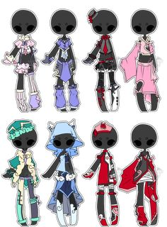 .:Adopted:. Outfit Batch 01 by DevilAdopts on DeviantArt