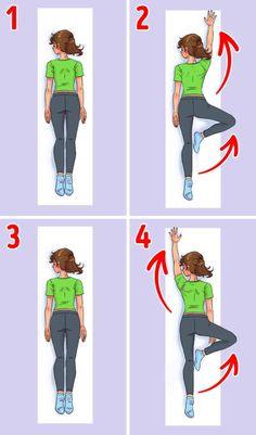 Ako som si cvičením za 30 dní dala do poriadku chrbát Hata Yoga, Gym Douce, Fix Your Posture, 7 Minute Workout, Feeling Sleepy, 30 Day Fitness, Fitness Magazine, Back Muscles, Regular Exercise
