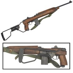 M1A1 Model Carbine was a light versatile WWII weapon, designed for the US airborne troops.