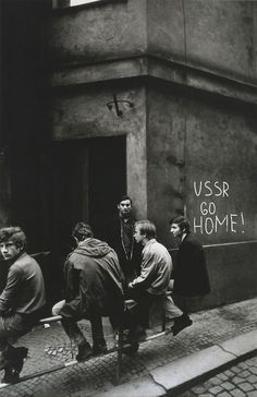 Josef Koudelka, Prague ,1968. - 'In August 1968 the Magnum photographer Josef…