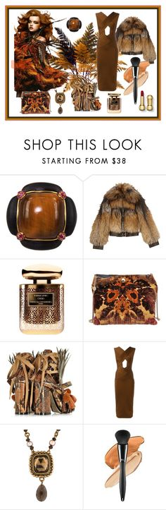 """""""Strut your Feathers"""" by neverboring on Polyvore featuring Yuan Lai, Alexander McQueen, By Terry, STELLA McCARTNEY, N°21, Balmain and Stephen Dweck"""