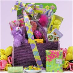 Egg-streme Glamour Girl: Easter Gift Basket for Girls Ages 6 to 9 Years Old $39.99