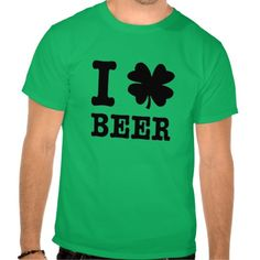 I Shamrock Beer . St Patricks Day Shirt. get it on : http://www.zazzle.com/i_shamrock_beer_st_patricks_day_shirt-235015914710914901?rf=238054403704815742&tc=lucky