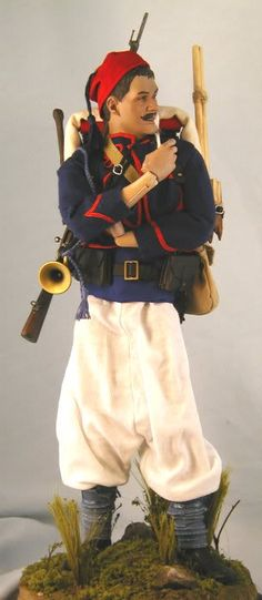 French Zouave, 1st Regiment, 1914 front