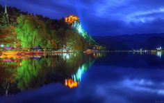 Lago e castelo de Bled