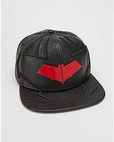 Red Hood DC Comics Snapback Hat - Spencer's