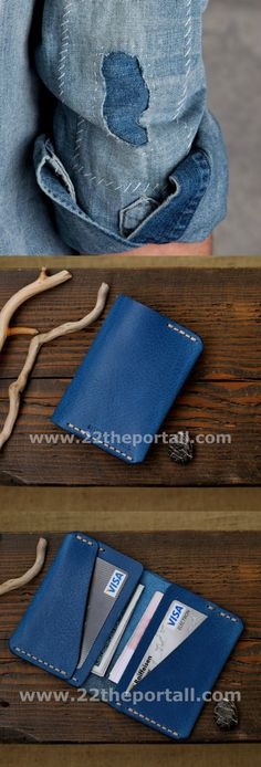 Leather Card Wallet, Card Holder, Leather Wallet, Mens Wallets, Men's Leather Wallet, Groomsmen Gift, Mens Wallet, Gifts for Men    38,00 US$