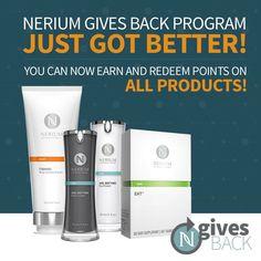 All new Nerium Gives Back program for Brand Partners! Message me for details!  amandawehner.nerium.com