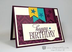 happy birthday everyone stampin up stampinup mary fish stamping pretty