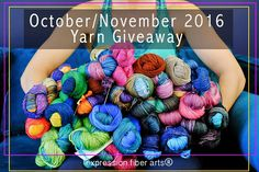 Expression Fiber Arts and their yarn giveaway. Loom Knitting, Knitting Stitches, Knitting Patterns Free, Free Knitting, Crochet Patterns, Knitting Projects, Crochet Projects, Expression Fiber Arts, Yarn Storage