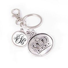 Royal Crown and Personalized Monogram Keychain. Link in profile: jewelrylized #crown #crownkeychain #handmadekeychain #monogramkeychain #initialkeychain # #handmade #personalized #personalizedkeychain #jewelrylized #handmadewithlove #keychain #giftforfriend #giftfordad #giftforher #giftforhim #handmade #custom #smallbusiness #uniquekeychain #keychains #clipkeychains #supporthandmade #handmadeisbetter  http://goo.gl/Q84mVG