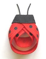 Ladybug Hair Clips Instruction - Hip Girl Boutique Free Hair Bow Instructions--Learn how to make hairbows and hair clips, FREE!