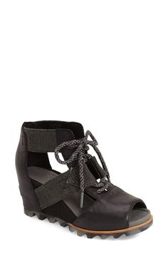 SOREL 'Joanie' Cage Sandal (Women) available at #Nordstrom