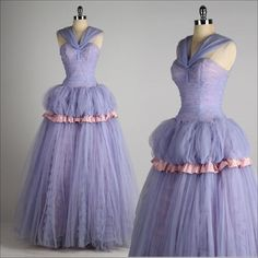 vintage 1950s dress . MIKE BENET . lilac by millstreetvintage, $225.00