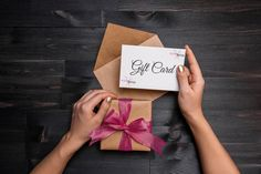 How to sell more salon gift cards?