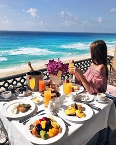 CANCUN, THE RITZ-CARLTON Good morning  @fashioninmysoul