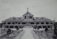 Oud Bethesda, kinderhuis anno 1926.   Datum:  Locatie: Suriname Vervaardiger:  Inv. Nr.: 27-702 Fotoarchief Stichting Surinaams Museum