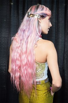Model Chloe Norgaard is basically the Patron Saint of My Little Pony backstage at Fashion Week.