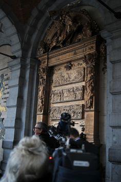 Everard 't Serclaes ontvangt bijgelovigen opnieuw | www.tento.be