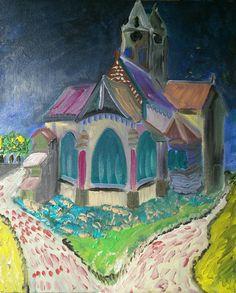 Naar een voorbeeld van Van Gogh.