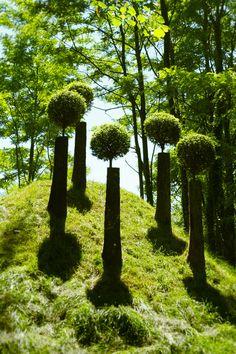 ♀ Environmental Land Art Green nature