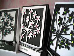beautiful card made with cricut/ huxtershouse.blogspot.com - lyrical letters