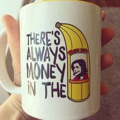 """Don't worry, these young beauties have been nowhere near the bananas!"" Gob #Arresteddevelopment https://www.etsy.com/listing/203414153/the-banana-stand-mug?ref=shop_home_active_20"