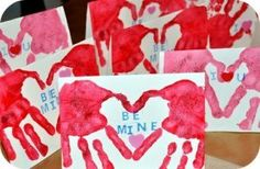 Valentine crafts for kids - Hearts 60 and more tutorials Sweet porridge…