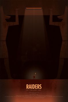Raiders of the Lost Ark Poster by Andy Helms