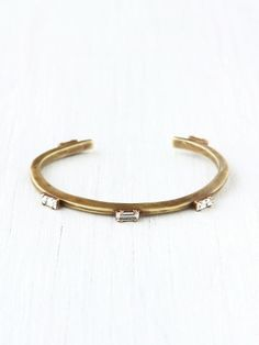 Free People Five Baguette Cuff, 128.00