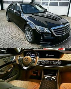 "Mercedes-Benz S-Class with ""Designo"" interior"