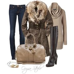Sophisticate by orysa on Polyvore featuring мода, DKNY, J Brand, Maison…