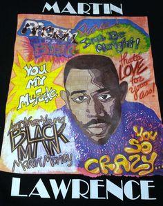Vintage Martin Lawrence Mens Large T-Shirt 90s TV Show Hip Hop #Hanes #GraphicTee #martinlawrence