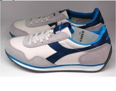 Diadora Heritage Track Womens Royal Sports Athlectic Walking Running Shoes #Diadora #RunningCrossTraining