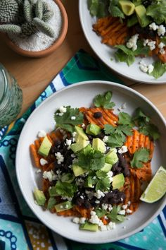 Danaes Sweet Potato Nachos  ----- I made this last week and now I want to make it every day
