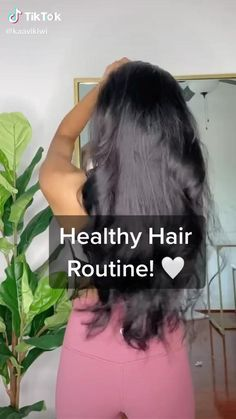 Belleza Diy, Tips Belleza, Hair Tips Video, Hair Videos, Natural Hair Care Tips, Curly Hair Tips, Hair Growing Tips, Diy Hair Treatment, Hair Mask For Growth