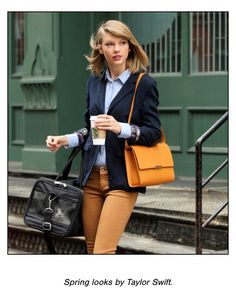 Love this spring look from Taylor