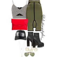 Untitled #187 by iamdestinnny on Polyvore featuring polyvore, fashion, style, River Island, Jeffrey Campbell, Givenchy, Topshop, NLY Accessories, Ray-Ban and clothing